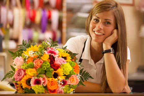 Alexanda Hamilton Group - Three hour flower arranging course for one  - Save 86%