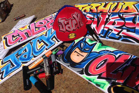Graffiti Artist -  90 minute graffiti workshop for one  - Save 72%