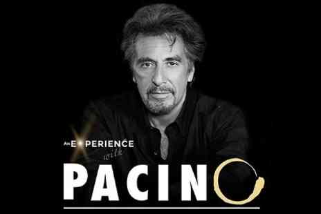Olexy Productions - One Tickets to An Experience With Al Pacino Plus Live Entertainment - Save 25%