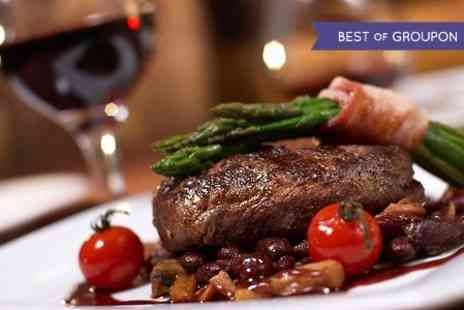 Fultons on the Green - Braised Feather Blade Steak or Seafood Thermador For Two - Save 60%