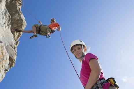 Large Outdoors - Abseil Experience For One  - Save 47%