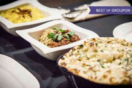 Taj Lounge - Indian Meal With Rice and Naan For Two - Save 55%