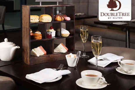 DoubleTree by Hilton Hotel - Afternoon Tea with a Glass of Champagne Each for Two  - Save 0%