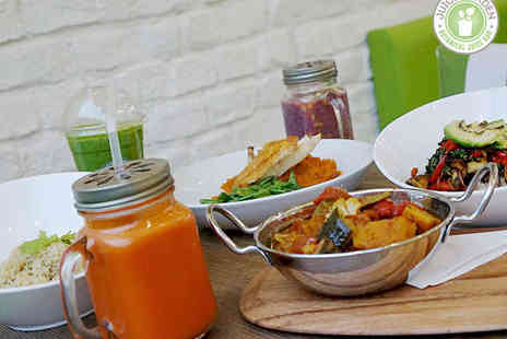 Juice Garden Byres Road - Main Course Each for Two  - Save 54%