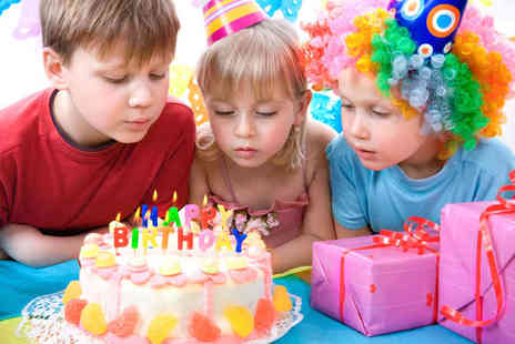 Cheeky Parties - Birthday Party for up to 20 Children Including Party Dancing, Face Painting, Children's Buffet, and Party Bags - Save 69%