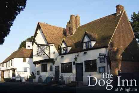 The Dog Inn - Rural Retreat for Two with Cream Tea and Bucks Fizz Breakfast for £49 - Save 66%