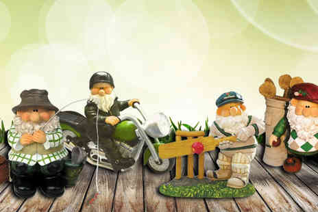 Ansell Garden Centre - Hand Painted Garden Gnome - Save 27%