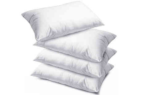 Your Essential Store - Luxury Super Bounce Back Pillows - Save 27%