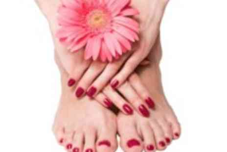 Coco Rouge Beauty Bar -  Shellac fingers & toes with a mini manicure & mini pedicure - Save 0%