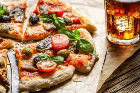 Hope & Anchor - Artisan pizza Plus drinks for 2  - Save 0%