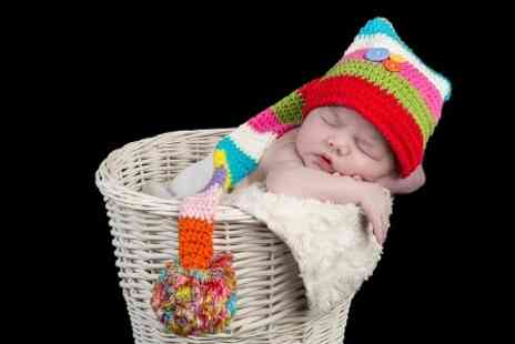 Shutter Hire - Newborn Photoshoot With Prints - Save 94%