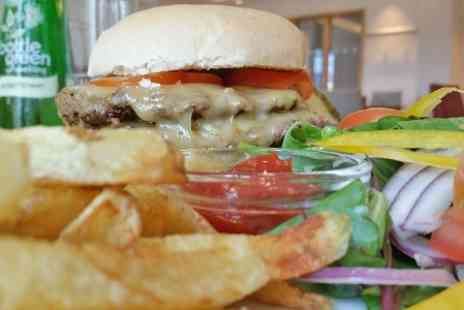 The Mock Turtle - Double Burger With Soft Drink  - Save 52%