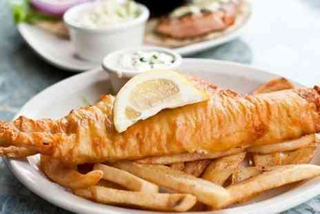 Poopdeck Restaurant - Fish and Chips With Sides and Drink - Save 0%