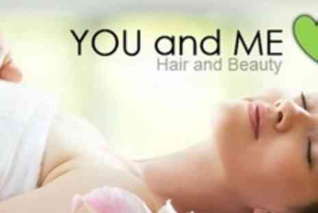 You & Me Hair & Beauty Salon� - 90 Minute Pamper Package Including Dermalogica Facial and Back, Neck and Shoulder Massage - Save 69%