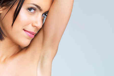 Boutique Spa - Three  Sessions of Laser Hair Removal - Save 81%