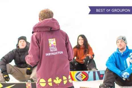 Chill Factore - Ski or Snowboard Beginner Level One - Save 51%