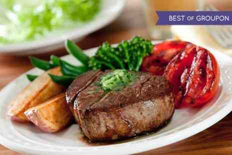 Seven Stars Inn - Rib Eye Steak For Two - Save 50%