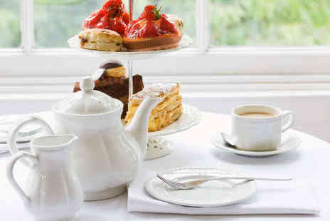 Blakemere Village - Cream Tea with a Miniature Bottle of Prosecco Each for Two - Save 55%