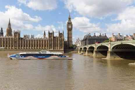 MBNA Thames Clippers - Adult  Ticket to River Roamer  with MBNA Thames Clippers - Save 45%