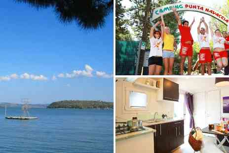 Camping Village Punta Navaccia - Seven nights stay in a mobile home by Lake Trasimeno for up to 6 people! - Save 60%