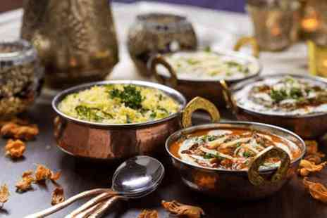 Delhi Dining - Starter, main course and rice or Naan for 4 - Save 61%