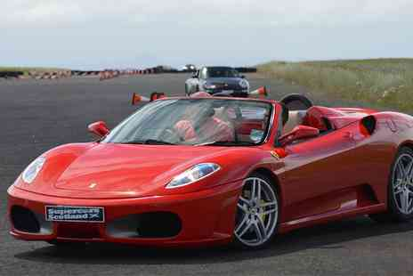 Supercars Scotland - Porsche or Ferrari Experience - Save 0%