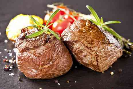 Green Bricks - Black Rock Steak Meal For Two - Save 0%
