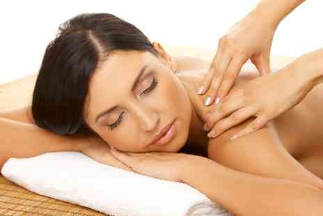 Healing Energy Studio - 30 Minute Back Massage With Facial - Save 40%