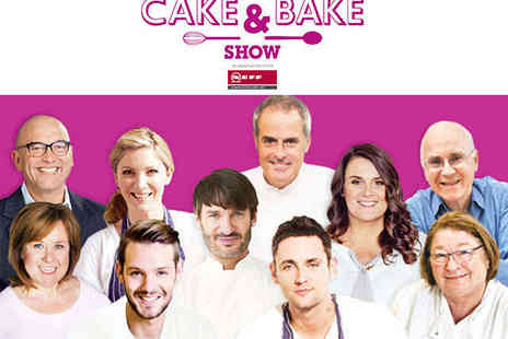 Harrogate HIC - Ticket to The Cake & Bake Show - Save 47%