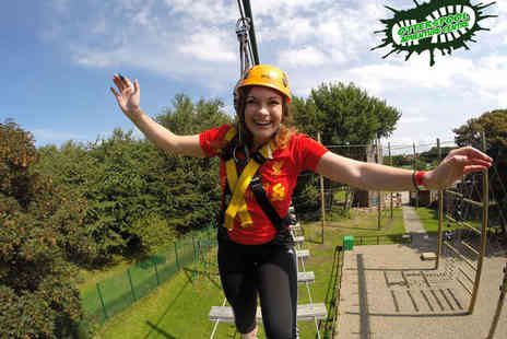 Otterspool Adventure Centre - Treetop High Rope Adventure for One - Save 50%