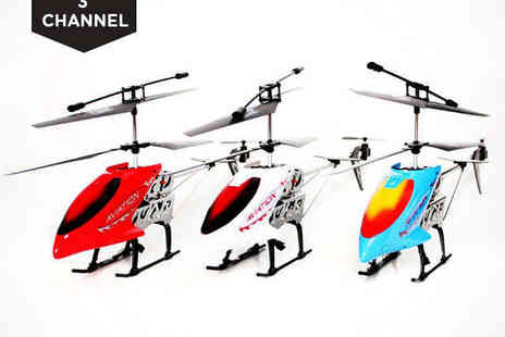 Toy Loco - Remote Control Helicopter with Built In Gyro - Save 46%
