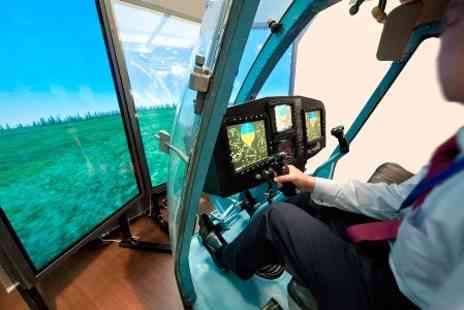 Challenger Helicopters - Helicopter Flight Simulator Experience  - Save 70%