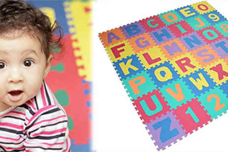 SA Products - Alphabet & Number Foam Puzzle Play Mat - Save 59%