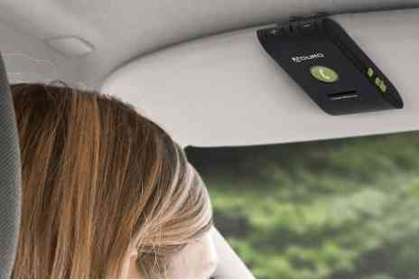 Mobile Star LLC - The Aduro bluetooth speaker visor car kit  - Save 51%