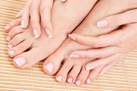 Atelier M London Salon & Spa  - One Appointments for a Shellac Manicure and Pedicure - Save 50%