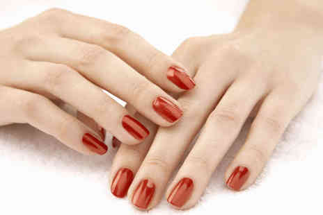Nail Candy by KD - Shellac Manicure or Pedicure or Both Treatments  - Save 54%
