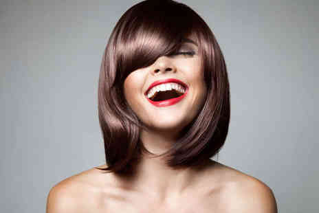 Coco at Angel - Haircut, Blow Dry, and Black Caviar Deep Conditioning Treatment - Save 77%