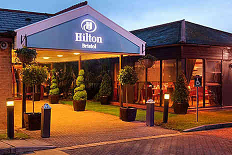 Hilton Bristol - '90s Boy Band Tribute Night with Three Course Meal and Half Bottle of Wine - Save 39%