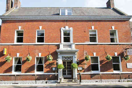 The Eastbury Hotel - One or Two Night Stay for Two with Daily Breakfast and a Seven Course Tasting Menu - Save 54%