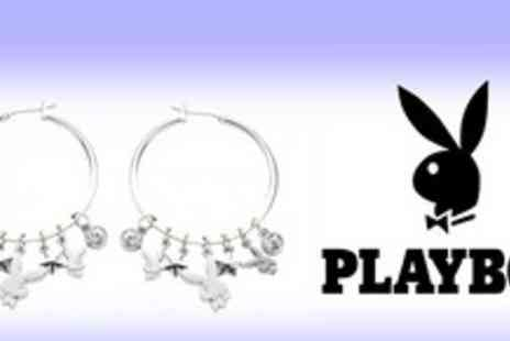 Isabelle Dario - Platinum-plated Playboy earrings with Swarovski crystals for just £11.55 (worth £33) - Save 65%