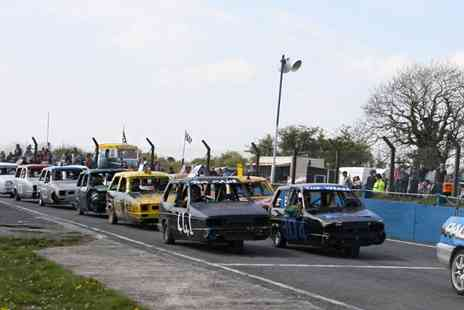 Mendips Raceway - Stock Car and Banger Race Day - Save 50%