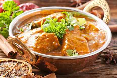 Rangoli - Choice of Curry and Pilau Rice For One - Save 39%
