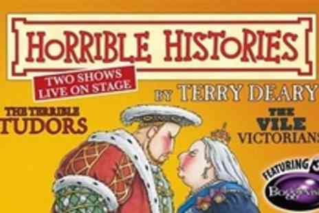 Birmingham Stage Company - Tickets for Horrible Histories Terrible Tudors and Vile Victorians Nationwide Tour - Save 32%