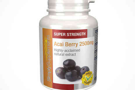 Acai Berry Extracts - Acai Berry 2500mg, Delivery Included - Save 53%