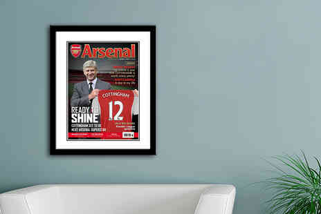 UR in the Paper - Personalised football magazine print - Save 60%
