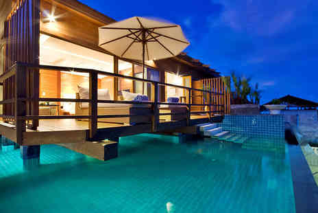 KC Resort & Over Water Villas - Seven night 5 star Thai stay for 2 including Jacuzzi suite, transfers, breakfast - Save 21%