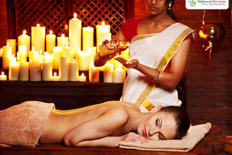 Ayur Wellness & Pain Centre - Bone Marma Manipulation Therapy with Ayurvedic Hot Oil Back Massage, Neck and Shoulder Massage, or Ayurvedic Reflexology - Save 58%