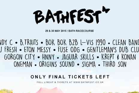 BBATHFEST MUSICAL FESTIVAL - Ticket to Bathfest 2015 VIP Two Day  - Save 49%