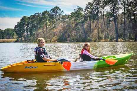 AV BOATS - Two Hour Kayak Hire For One - Save 50%