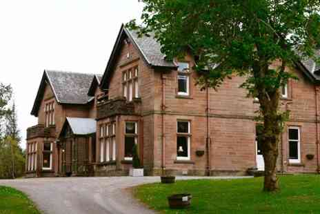Ledgowan Lodge Hotel - One, Two or Three Nights stay For Two With Champagne and Transfer - Save 0%